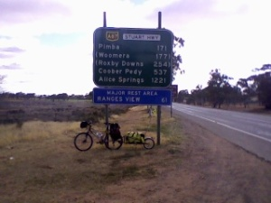 16 road to Port Augusta