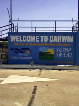 61 port of darwin