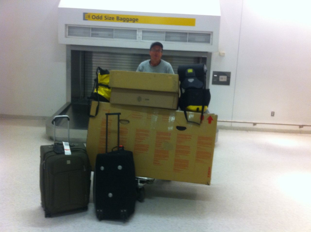 San Francisco to New York: Bikes, Bags, Luggage and Logistics