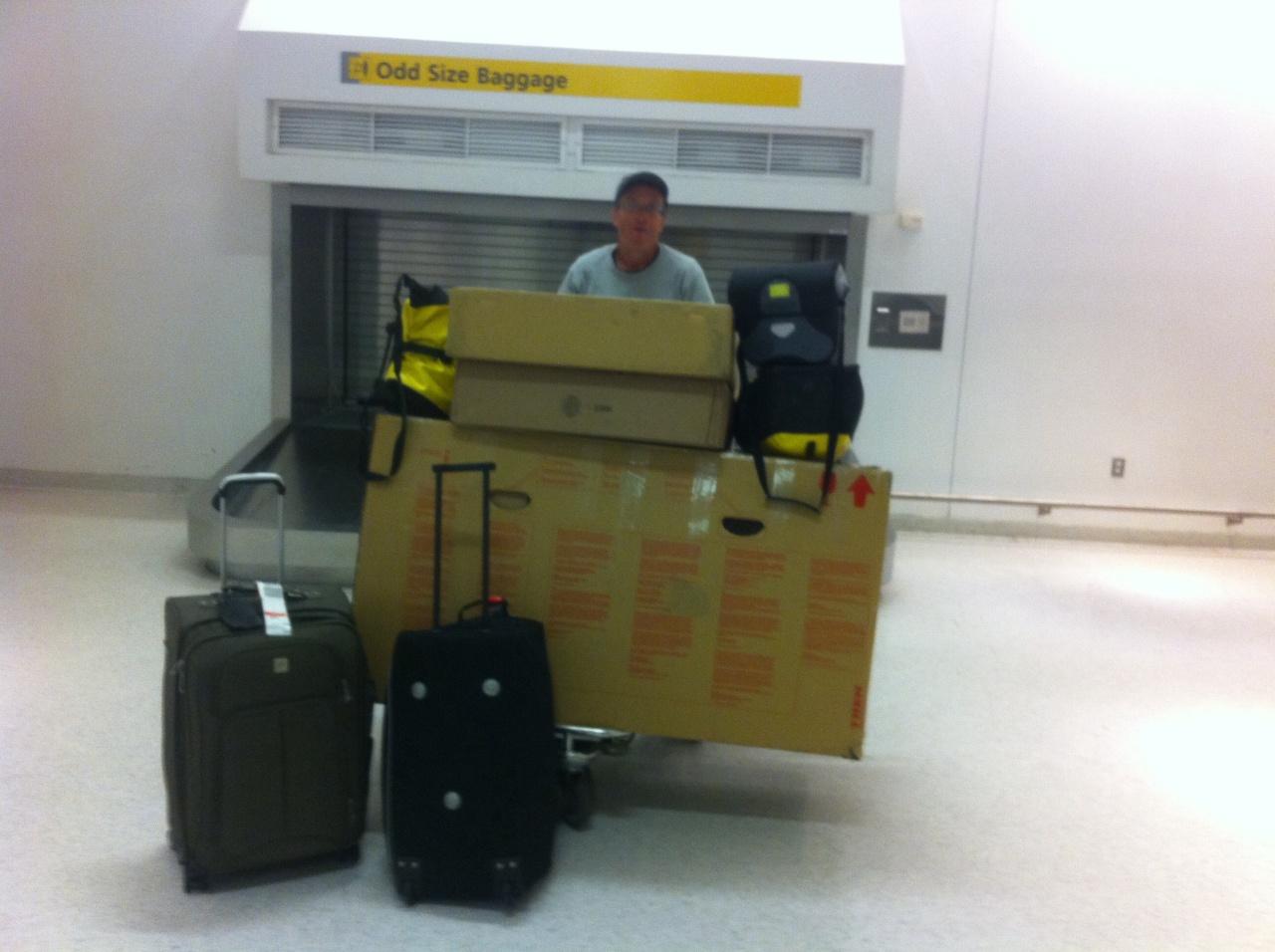 San Francisco to New York: Bikes, Bags, Luggage andLogistics