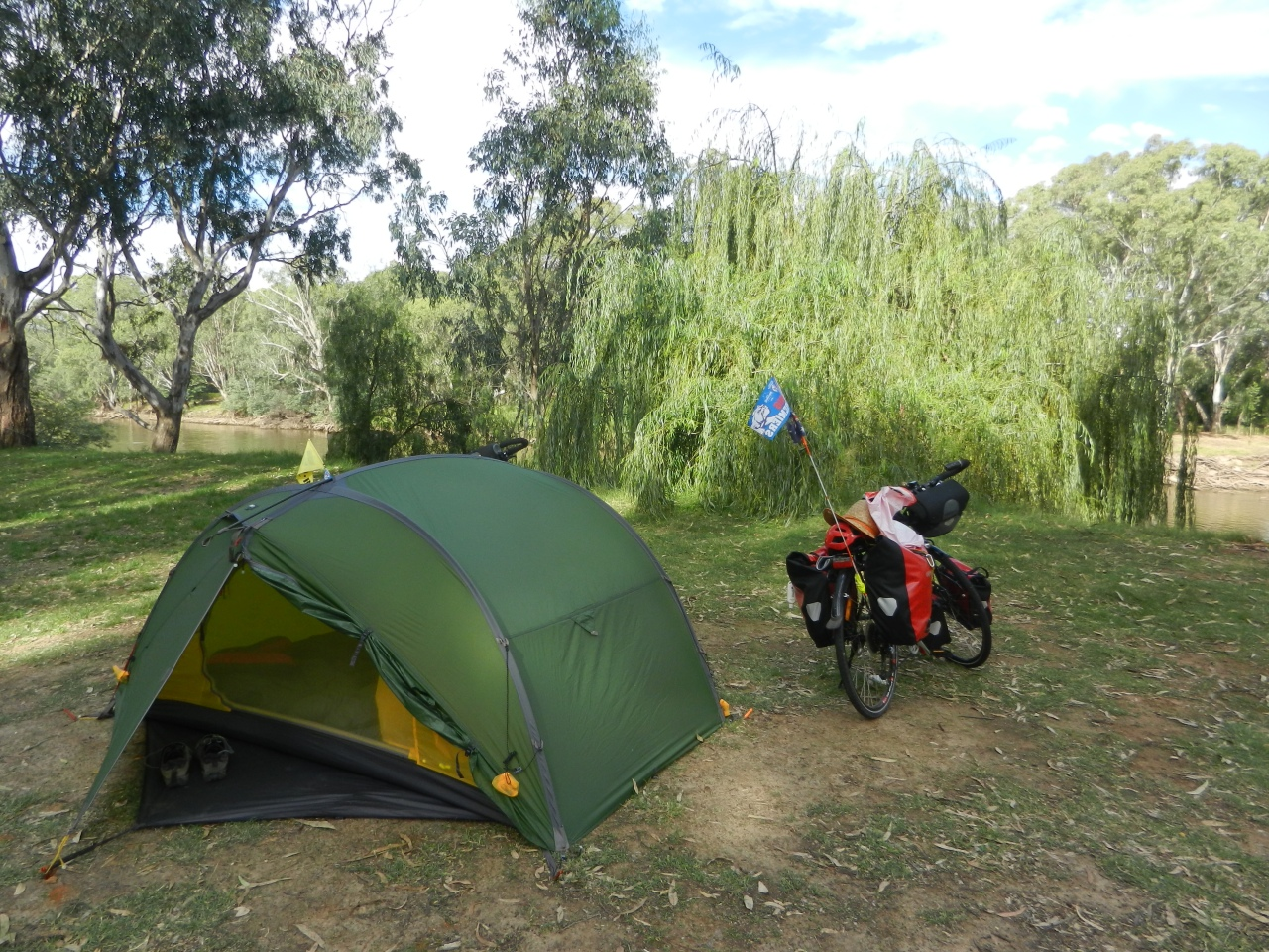 Looking Forward, Looking Back: 8 months cycling in a tent.