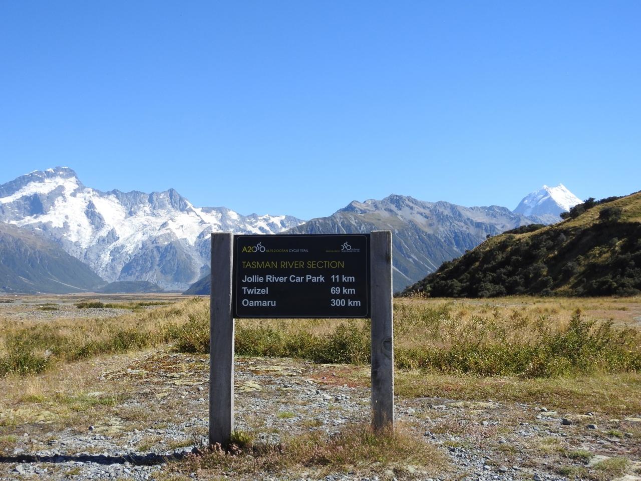 Alps 2 Ocean Cycle Trail NewZealand